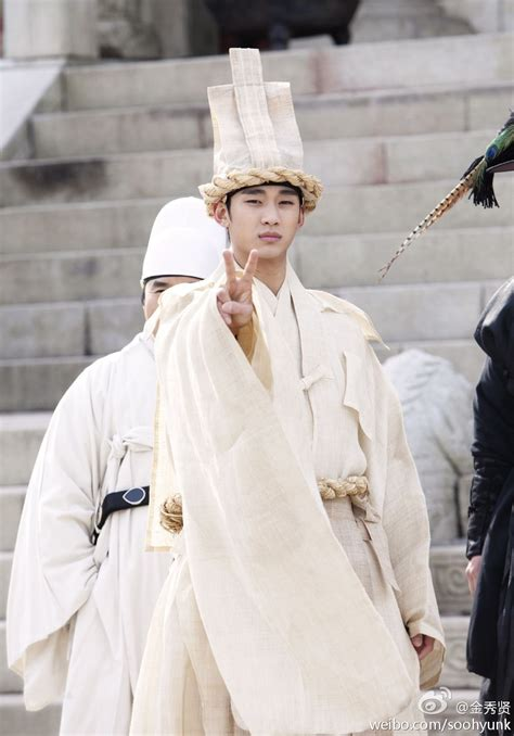 kim soo hyun moon embracing the sun kim soo hyun in quot the moon that embraces the sun quot series