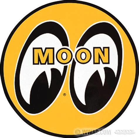 Emblem Mooneyes w w cycles accessories gt mooneyes decals