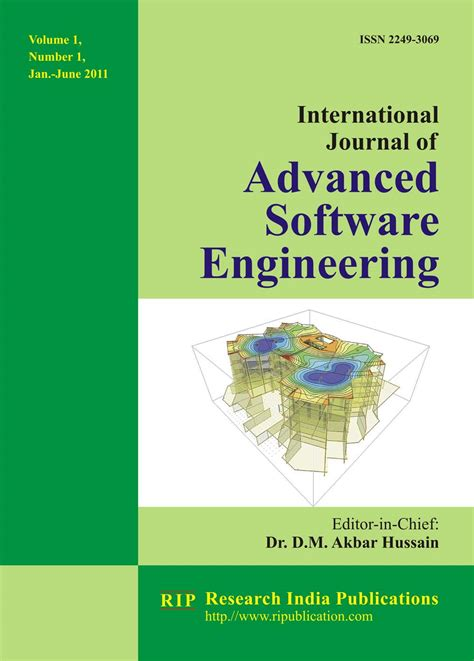 software engineering book name ijase international journal of advanced software