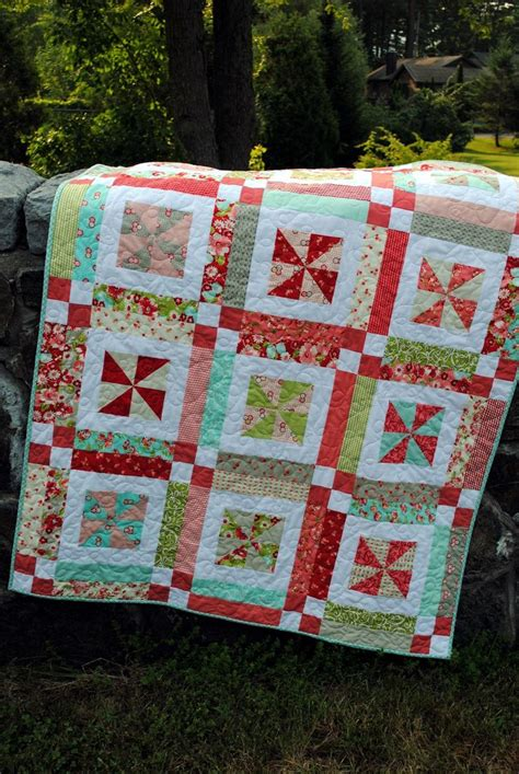 Quilting Pdf by Quilt Pattern Pdf Baby Or Easy One Layer Cake
