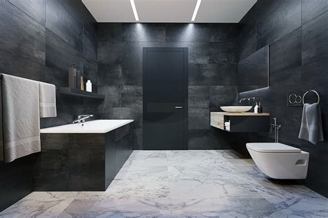 bathroom dark luxury styles 6 dark and daring interiors