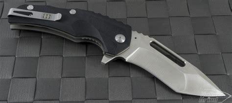 brous reloader brous blades reloader t e flipper knife 3 5in satin plain