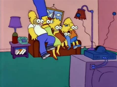 simpson couch gags eyeless family couch gag simpsons wiki fandom powered