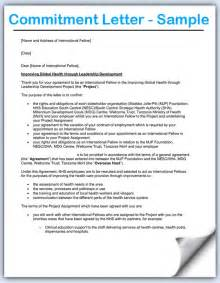 Letter Of Commitment Template by Commitment Letters In Commercial Loans Borrower And Lender