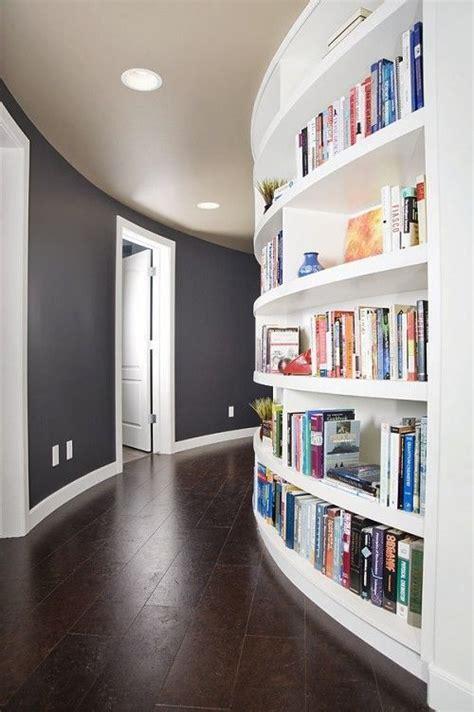 hallway bookcase home