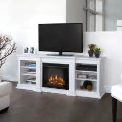 tv stands with electric fireplaces real fresno electric fireplace tv stand in white