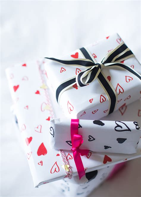 valentines day wrapping paper printable s day wrapping paper say yes