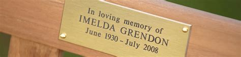 memorial bench plaques sayings memorial bench plaque quotes quotesgram