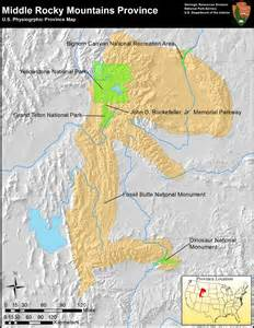 colorado rocky mountains map nps explore nature 187 geologic resources 187 education