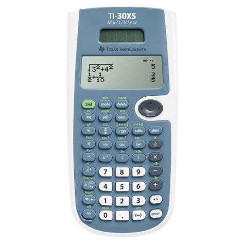 calculator scientific online texas instruments ti 30xs multiview scientific calculator