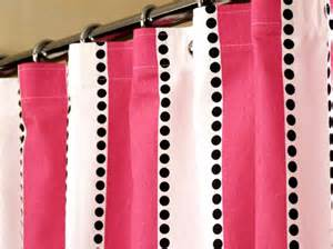 black and pink shower curtain pink shower curtain with pink white stripes by