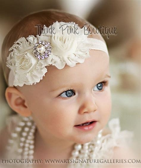 14 best images about baby hairband on vintage 25 best images about baby headbands on flower