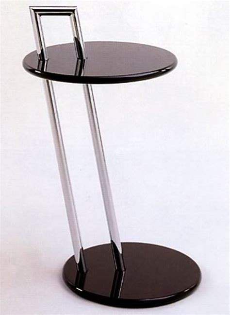 eileen gray side table bauhaus italy
