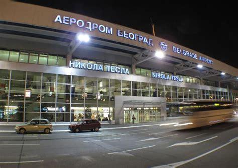 Nikola Tesla Airport Belgrado Nikola Tesla Airport Vervoer Vliegveld Naar