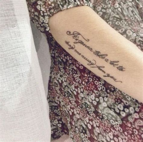 upper arm quote tattoos newhairstylesformen2014 com little upper arm tattoo saying it s gonna take a lot to