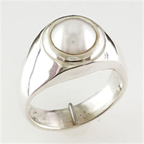 Mens pearl ring  Jewellery Images