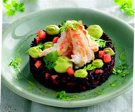 cucinare riso nero ricetta riso nero e sci con avocado la cucina italiana