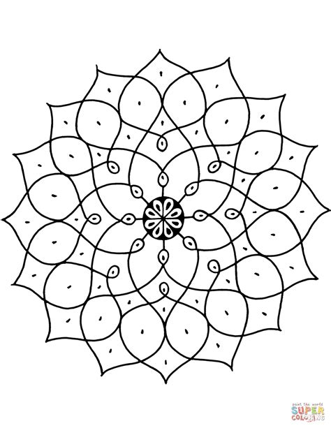 patterned colored of the indian indian pattern coloring page free printable coloring pages