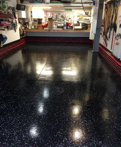 Epoxy Garage Flooring by Black Epoxy Garage Flooring Roselawnlutheran