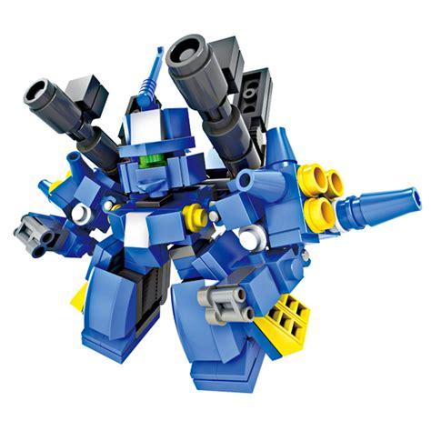 Bricks Robot 4 In 1 Combination Transform Toys Mainan Lb058 hsanhe preschool plane transform robot kit educational