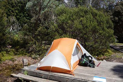tent platform australian hiker the overland track tas 65 125 km