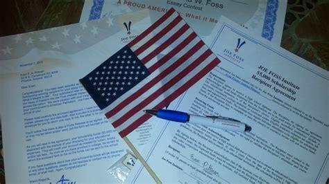 Joe Foss An American Scholarship News