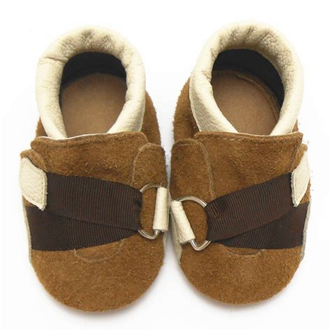 infant moccasins sayoyo brand baby boy shoes genuine leather baby moccasin for boys buckle soft infant walker