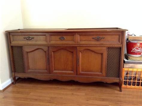 1960s record player cabinet vintage 1960 s magnavox console am fm stereo record player