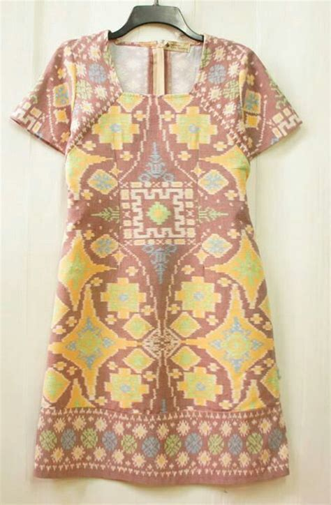 Puff Tenun batik tenun indonesia batik batik dress kebaya and indonesia