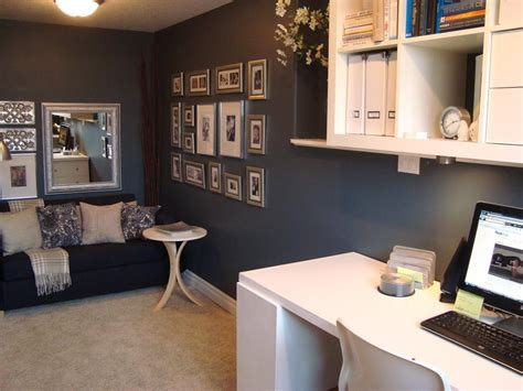 guest bedroom office neat home office nooks hgtv