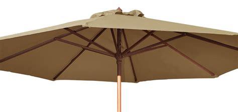 parasol bois inclinable parasol en bois commandez nos parasols en bois design 224