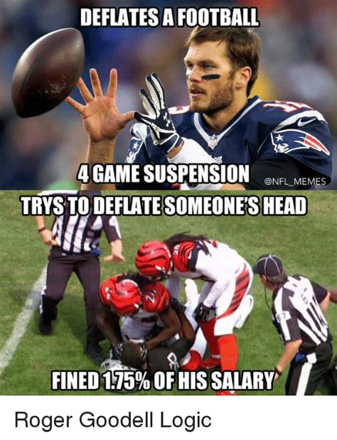 Football Meme - 25 best memes about meme nfl roger and roger goodell