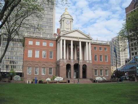Old State House In Hartford Connecticut