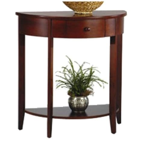 Half Table For Hallway Half Moon Console Table For Entryway For The Home