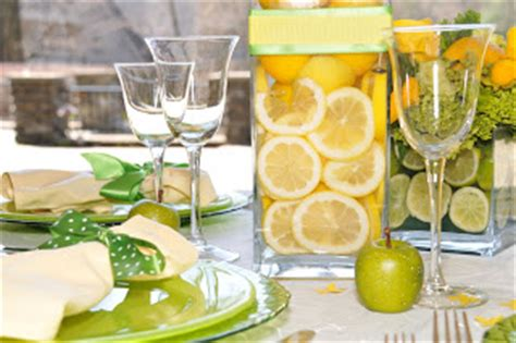 jp event design inspiration lemon lime