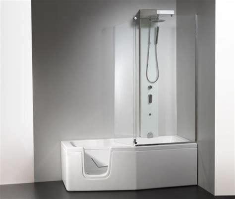vasca da bagno con sportello e doccia vasca con sportello box doccia quot compact quot 150x70 170x70