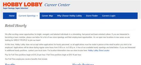 printable job application hobby lobby hobby lobby jobs 2018 application requirements careers