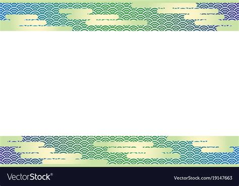 Japanese New Year Cards Template by A Japanese New Years Card Template Royalty Free Vector Image