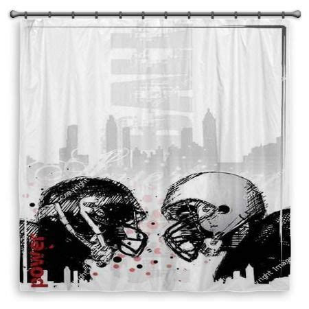football shower curtain 42 best images about vision shower curtains on pinterest