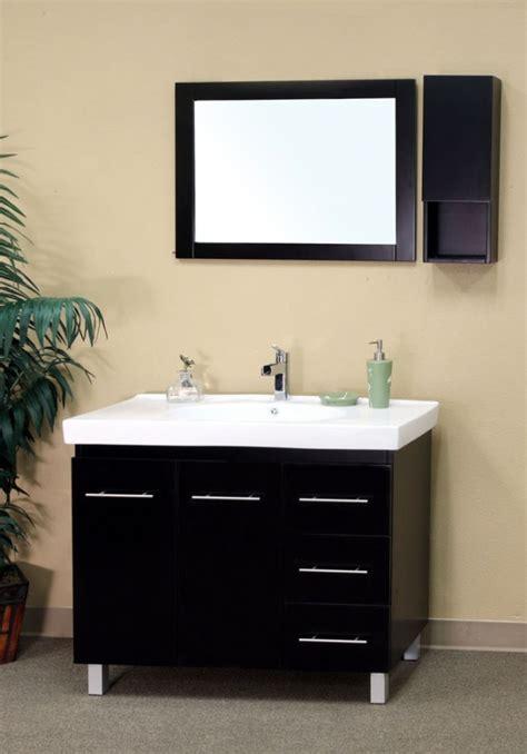 40 inch bathroom vanity 40 inch single sink bathroom vanity in black uvbh20312940