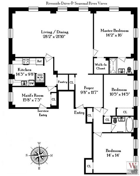 manhattan apartment floor plans 12 best architect emory roth images on pinterest