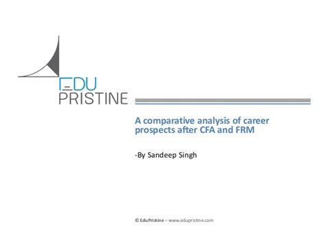 Cfa After Mba In Usa by Career Prospects After Cfa Frm A Comparative Analysis