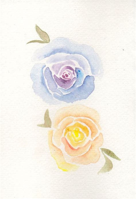 tutorial drawing watercolor best 25 watercolor rose ideas on pinterest painting