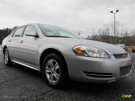 Black And Silver Ls by 2012 Silver Metallic Chevrolet Impala Ls 61580416
