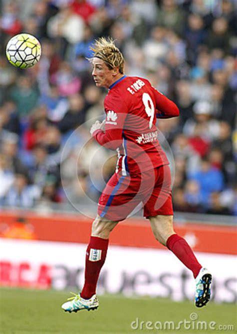 fernando torres  atletico madrid editorial stock photo