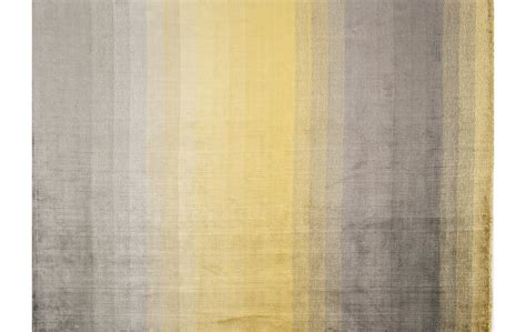 teppich gelb grau viskose teppich grace gelb ca 200x300 cm handgekn 252 pft
