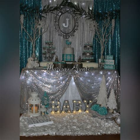 winter decorations for baby shower winter baby shower quot baby it s cold outside quot baby it s cold outside