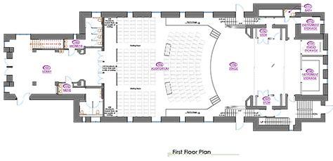 university auditorium plan imgs for gt auditorium backstage plan