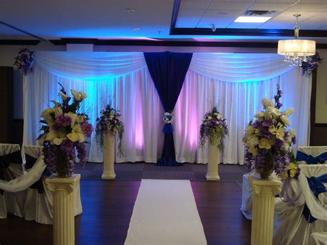 wedding decorations wedding ceremony decorations noretas decor inc