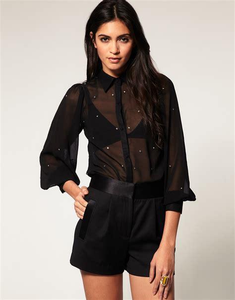 imagenes blusas negras de moda blusas negras transparentes 2015 6 blusas de moda 2018
